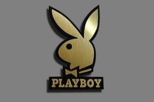 ป้ายโลโก้ Playboy