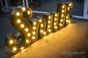 ไฟปิงปอง LED